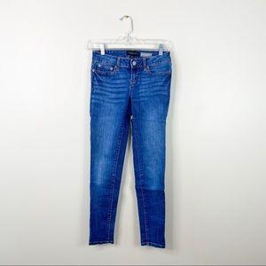 Aeropostale skinny jeans size 0 dark wash jegging